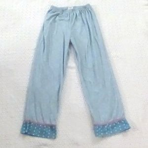Other - Girl's Blue Pajama Pants Size 10/12